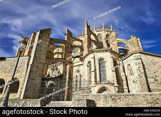 Church of Santa Maria de la Asuncion, Castro Urdiales, Cantabria, Spain, Europe