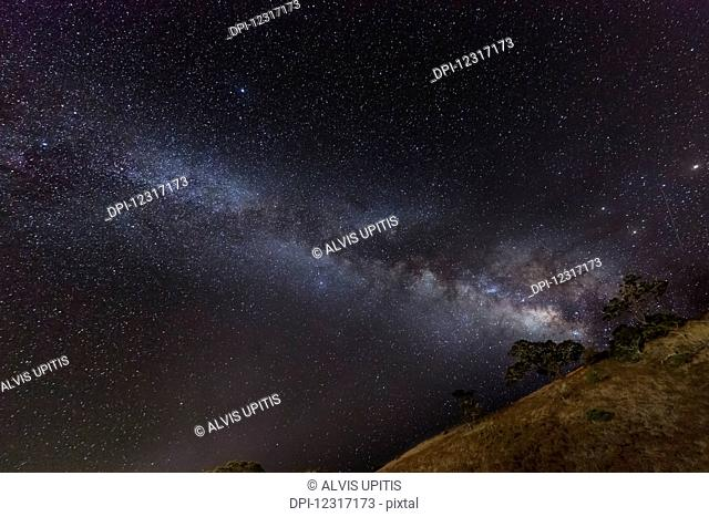 Milky Way as seen from Saddle Road; Hawaii, United States of America