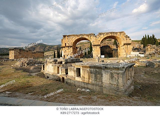 Hierapolis. Ancient Greece. Asia Minor. Turkey