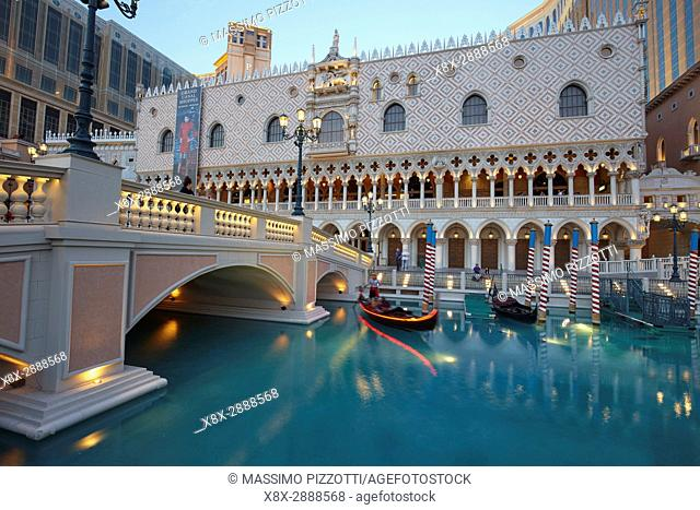 The Venetian hotel in Las Vegas, Nevada, United States
