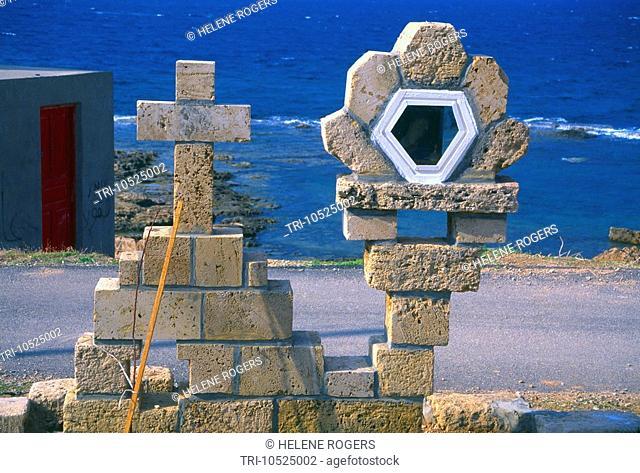 Lebanon Maronite Shrine on Beach