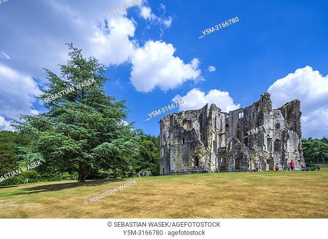 Old Wardour Castle near Tisbury, Wiltshire, England, United KIngdom, Europe