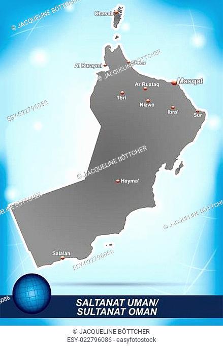 Karte Oman.Karte Von Oman Stock Photos And Images Age Fotostock