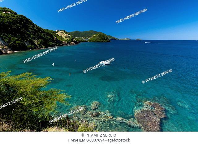 France, Guadeloupe (French West Indies), Les Saintes, Terre de Haut, Anse Galet