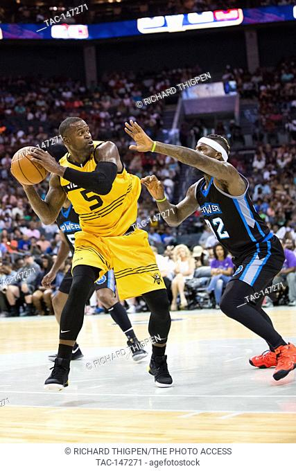 Week #2 of the BIG3 basketball tournament showcases in Charlotte, NC at the Spectrum Center