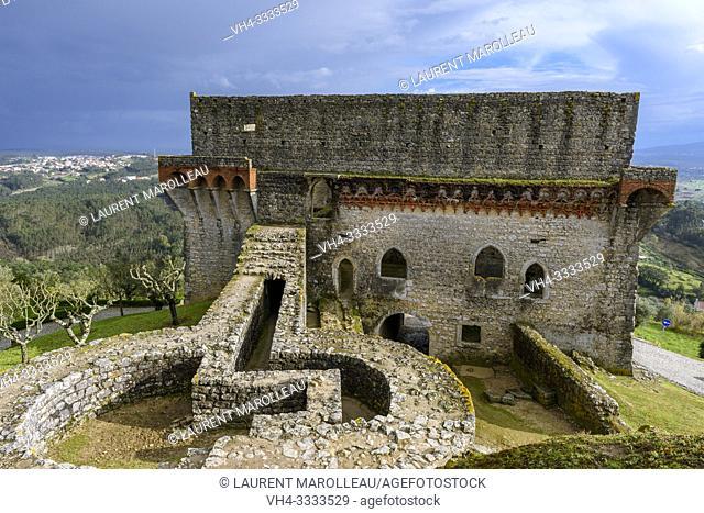 Castle of Ourem, Santarem District, Centro Region, Portugal, Europe