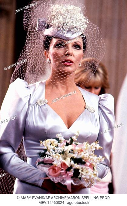 Joan Collins Characters: Alexis Carrington Colby Television: Dynasty (TV-Serie) Usa 1981-1989, / Episode 5.12: '?berraschende Geschenke' (That Holiday Spirit