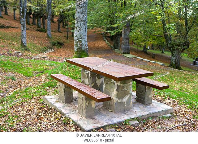 Urkiola Natural Park. Biscay, Euskadi, Spain