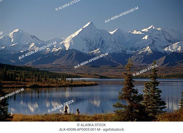 Visitor Photograph Mt Brooks @ Wonder Lake IN AK Fall Denali NP