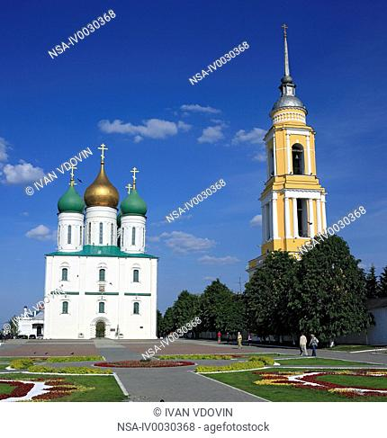 Dormition cathedral 1682, Kolomna, Moscow region, Russia