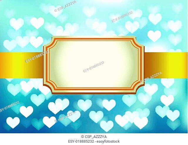 Template frame design for Invitation