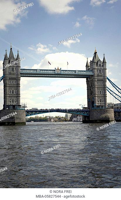 Architecture, town, Tower Bridge, the Thames