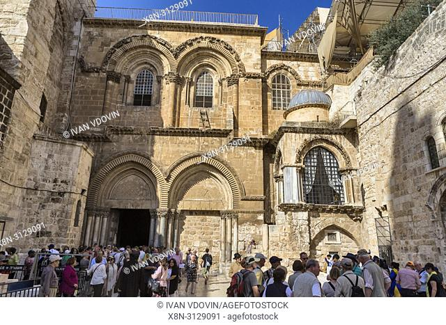 Holy Sepulchre church (12th century), Jerusalem, Israel
