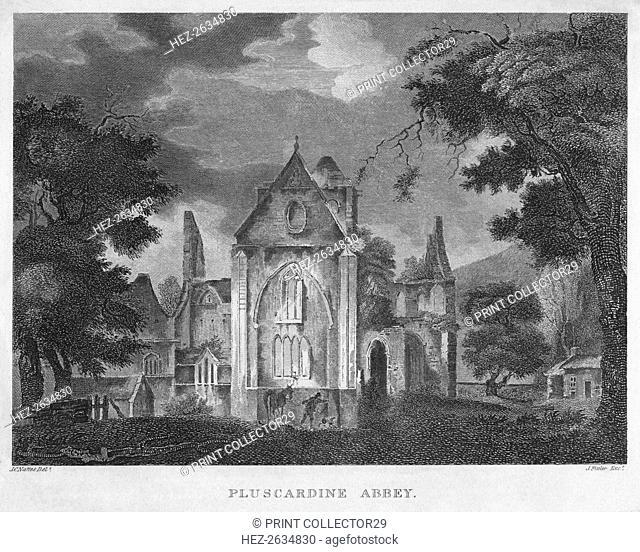 'Pluscardine Abbey', 1804. Artist: James Fittler