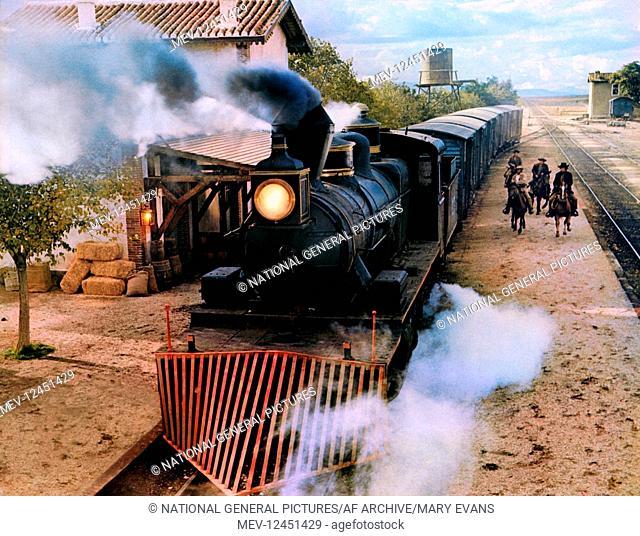 Locomotive Steam Train Film: The Man Called Noon; Un Hombre Llamado Noon; Lo Chiamavano Mezzogiorno (1973) Director: Peter Collinson 06 August 1973