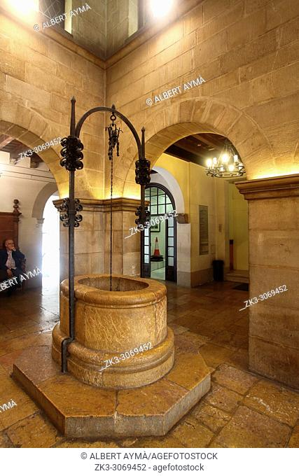 La Paeria, Town Hall of the city of Lleida. Catalonia, Spain