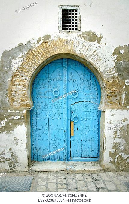 Tunis-entrance door