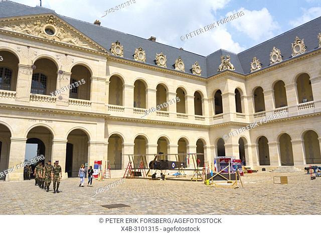 Musee de l'Armée, Army Museum, Les Invalides, Paris, France