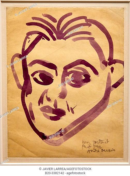 """""""Portrait de Picasso"""", 1908, André Derain, Picasso Museum, Paris, France, Europe"""