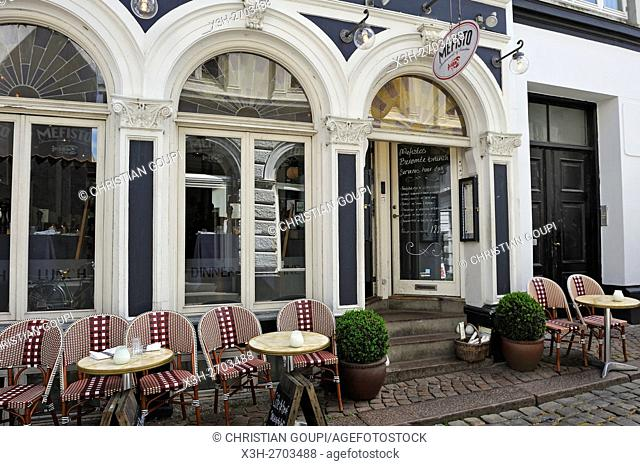 Mefisto Restaurant and winebar, Volden 28, Latin Quarter, Aarhus, Jutland Peninsula, Denmark, Northern Europe