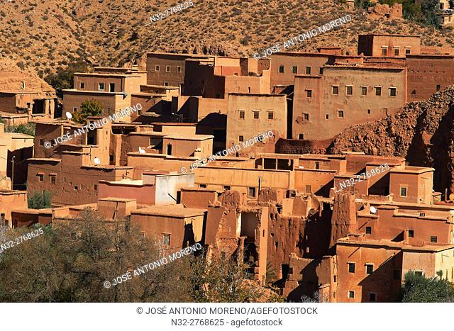 Dades, Dades Valley, Dades Gorges, High Atlas, Morocco, Maghreb, North Africa