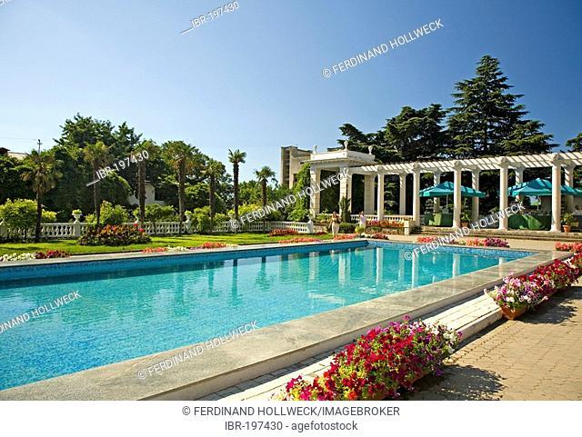 Botanical Garden, Jalta, Crimea, Ukraine, South-Easteurope, Europe