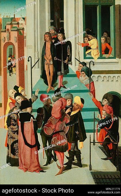 Christ Presented to the People - 1475/85 - North Netherlandish - Artist: Northern Netherlandish School, Origin: Northern Netherlands, Date: 1475–1485