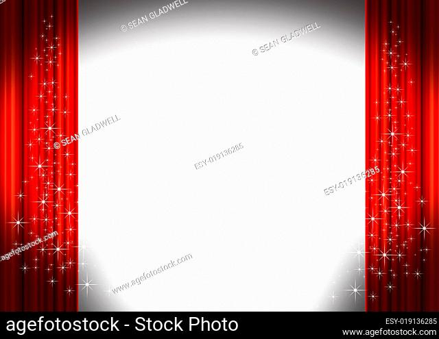 Theater curtains