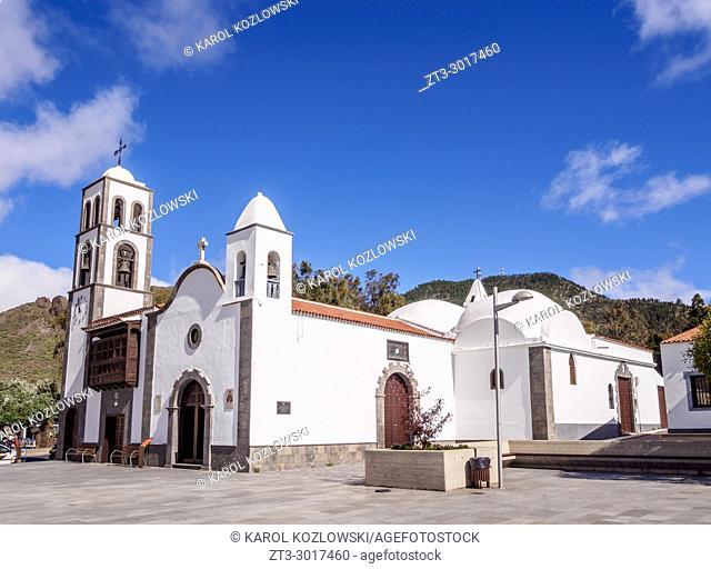 Church in Santiago del Teide, Tenerife Island, Canary Islands, Spain