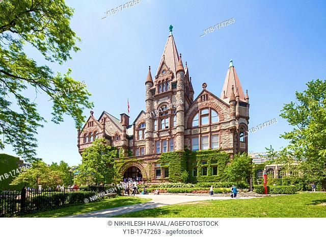 Victoria College Old Vic, Toronto University
