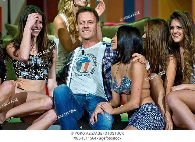 Kalispera telecast Canale 5 Mediaset, 19 01 2011, Milan, Italy  Rocco Siffredi