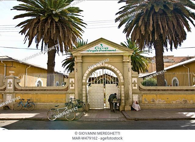 Casa degli italiani, Asmara, Eritrea