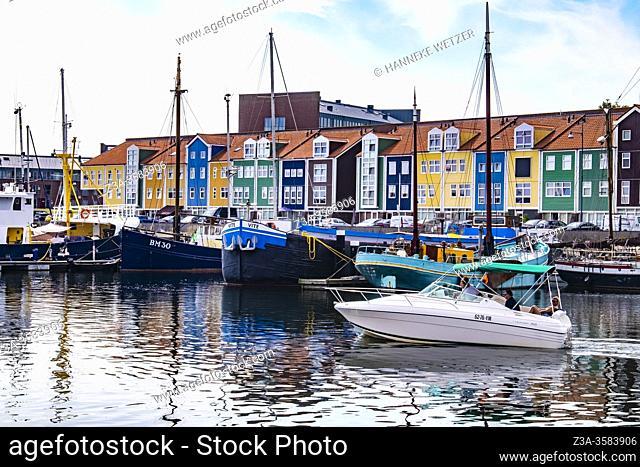 Harbour of Hellevoetsluis, The Netherlands, Europe