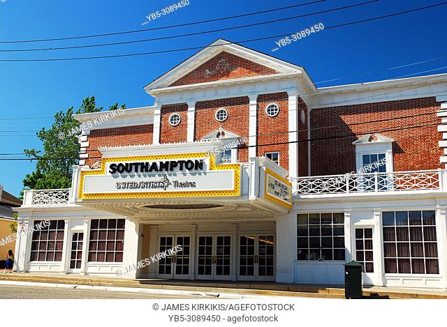 The Southampton movie theater remains in its historic building