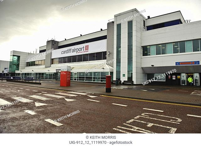 Cardiff airport Wales