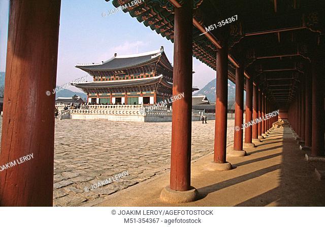 Gyeongbokgung temple. Seoul. South Korea