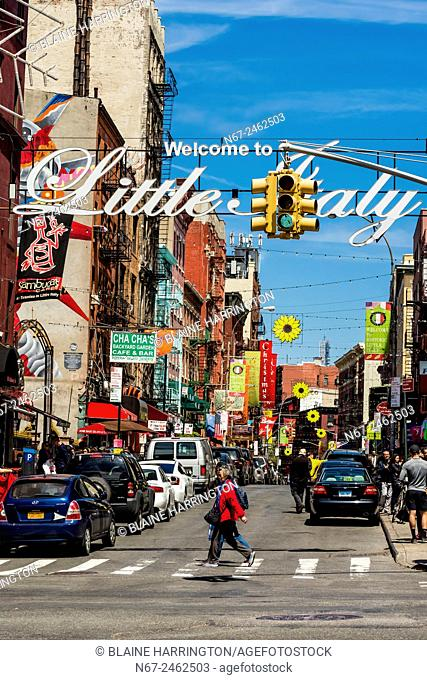 Little Italy, New York, New York USA