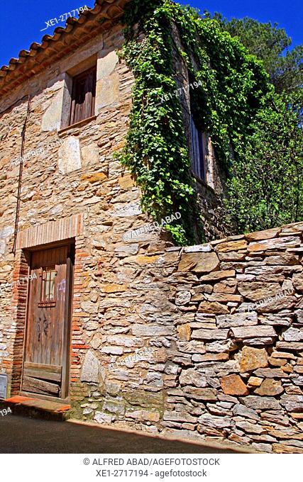 Renovated farmhouse, Begur, Girona, Catalonia, Spain