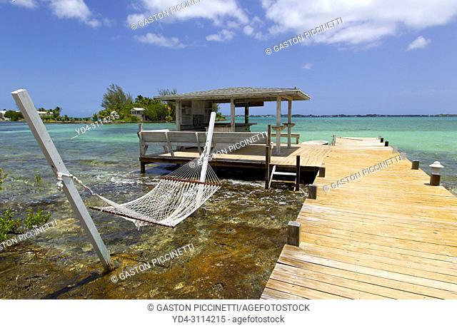 Three Island Dock, North Eleuthera Island, Bahamas