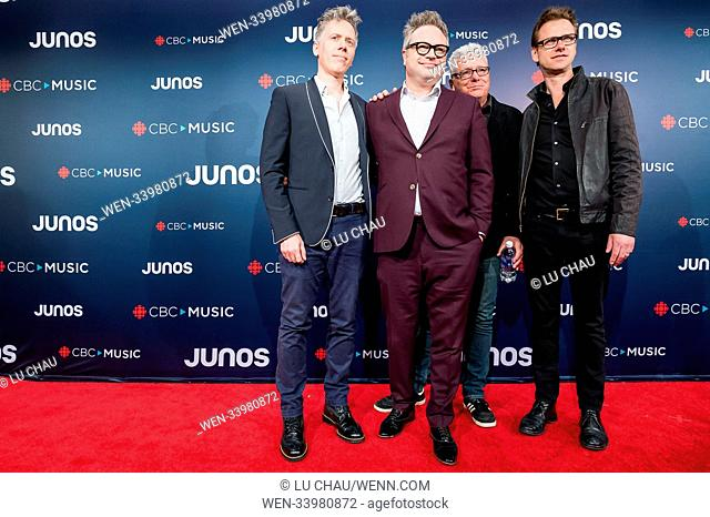 2018 JUNO Awards, held at the Rogers Arena in Vancouver, Canada. Featuring: Steven Page Where: Vancouver, British Columbia