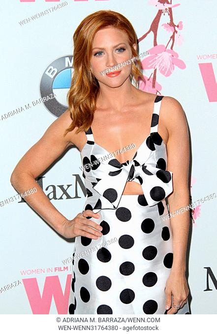 Women In Film 2017 Crystal and Lucy Awards held at The Beverly Hilton Hotel - Arrivals Featuring: Brittany Snow Where: Los Angeles, California