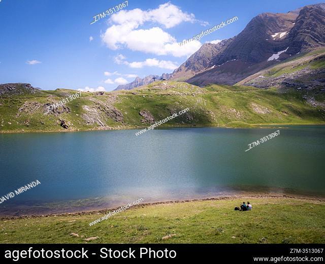 Lago de Asnos y Sabocos. Panticosa. Huesca. Aragón. Pirineos. España