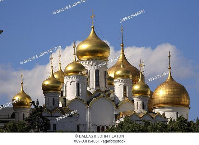 Russia, Moscow, The Kremlin, The Annunciation Cathedral