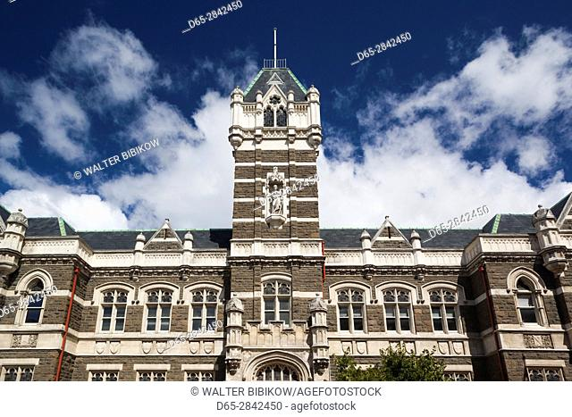 New Zealand, South Island, Otago, Dunedin, Dunedin High Courts building