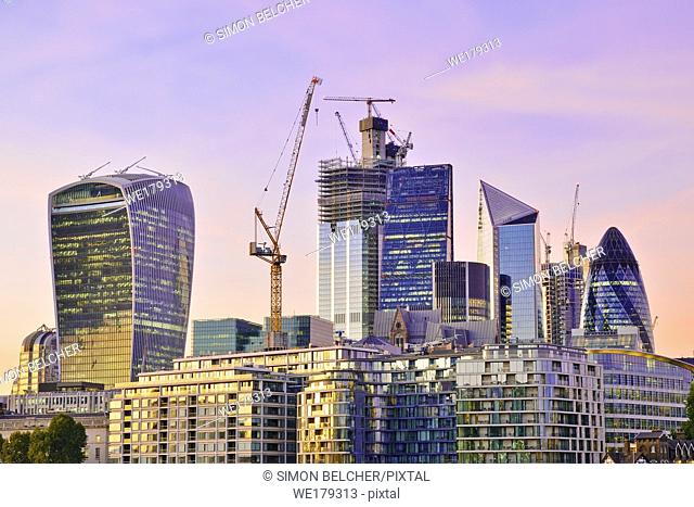 City of London Financial District, United Kingdom