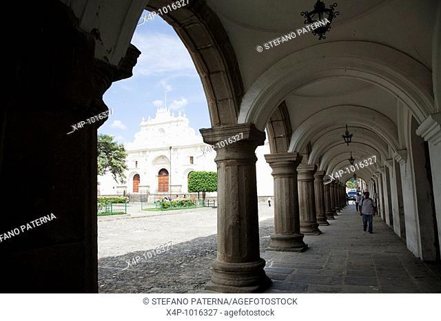 La Cathedral in Antigua, Guatemala