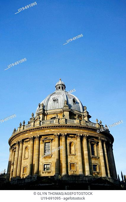 Radcliffe Camera, Radcliffe Square, Oxford University, Oxford, Oxfordshire, England, UK