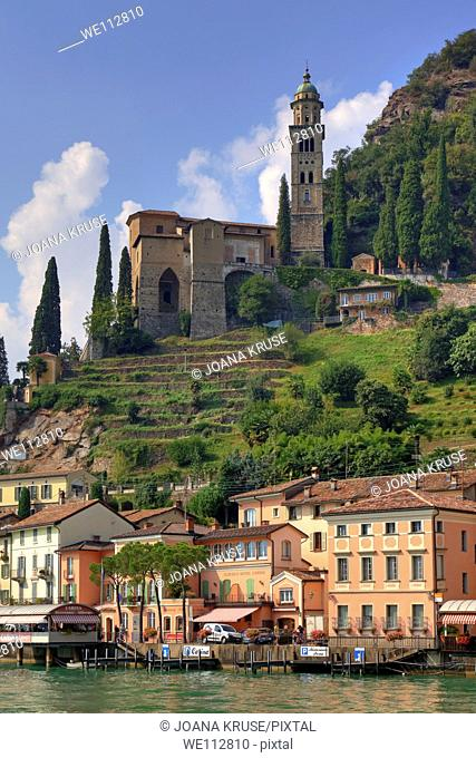 Morcote is an idyllic village, situated on the Lago di Lugano
