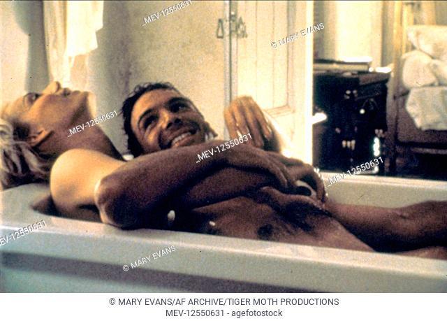 Kristin Scott Thomas & Ralph Fiennes Characters: Katharine Clifton, Count Laszlo de Almasy Film: The English Patient (USA/UK 1996) Director: Anthony Minghella...