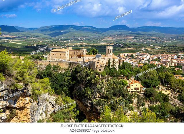 Spain, Catalonia, San Marti Sarroca City, San Marti Church